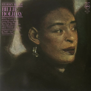 Billie Holiday - Stormy Blues (LP) (EX/VG-EX)